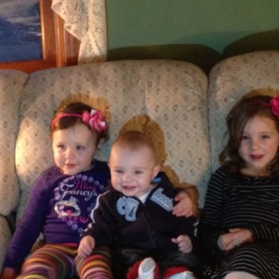 C Loved Seeing His Cousins!