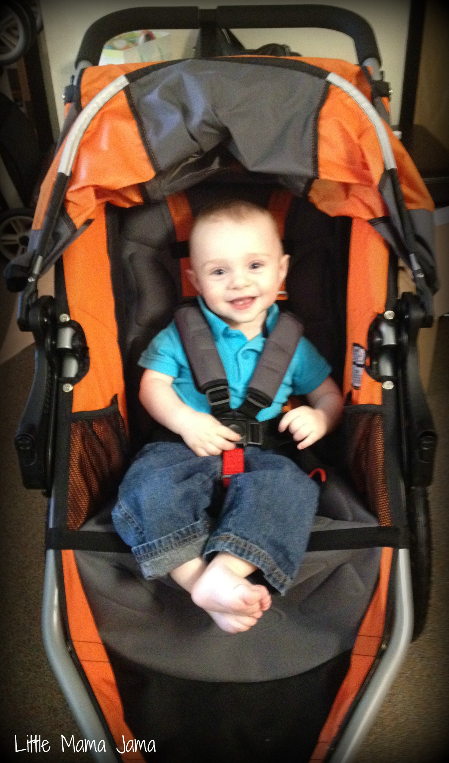 Wordless Wednesday: The New Stroller Arrived!