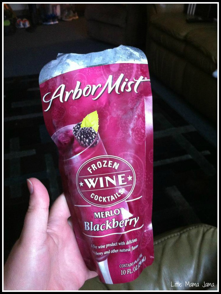 Alcoholic Frozen Pouch Drinks?!