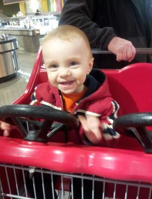 Wordless Wednesday: Riding in the Cart