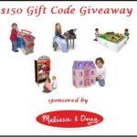 Melissa & Doug $150 Gift Code Giveaway!