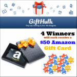 Back to GiftHulk Giveaway – Win a $50 Amazon Gift Card!