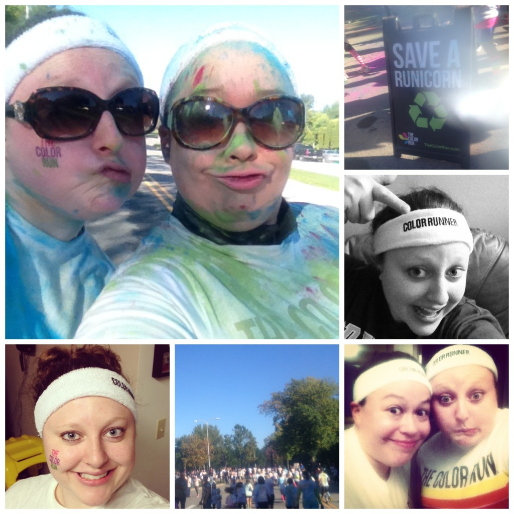 Color Run 2013 Collage
