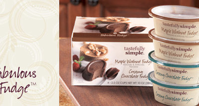 Tastefully Simple Fabulous Fudge™ Review and Giveaway!