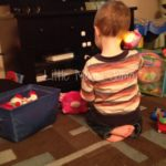 A Toddler's Phone Conversations