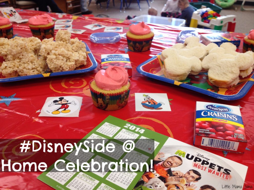 #DisneySide @ Home Celebration