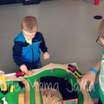 (Kinda) Wordless Wednesday: Family Time at the Railroad Museum