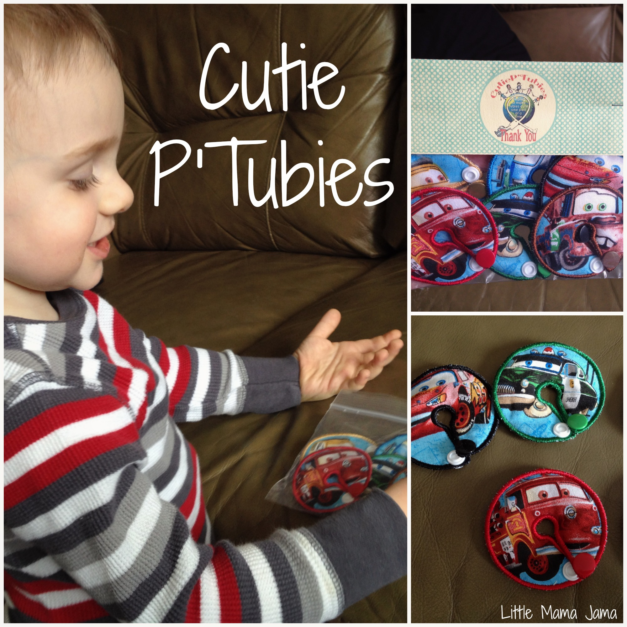 Cutie P'Tubies Review & FLASH Giveaway: Making tubies cute one pad at a time!