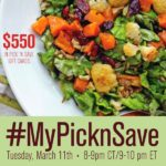 Join Me on 3/11 for the #MyPicknSave Twitter Party!