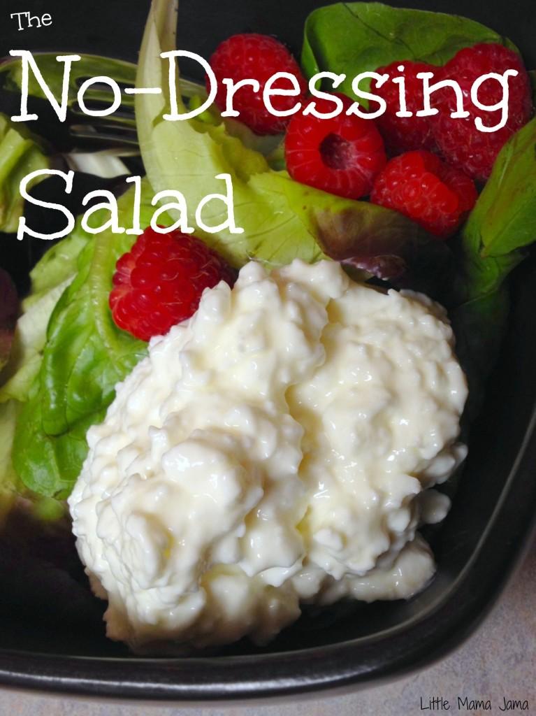The No-Dressing Salad #saladswap #momsmeet