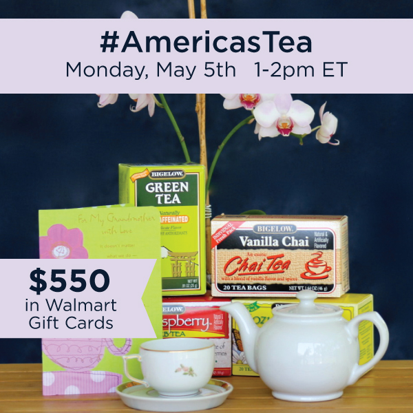 #AmericasTea-Twitter-Party-5-5, #shop, #TwitterParty, sweepstakes on Twitter