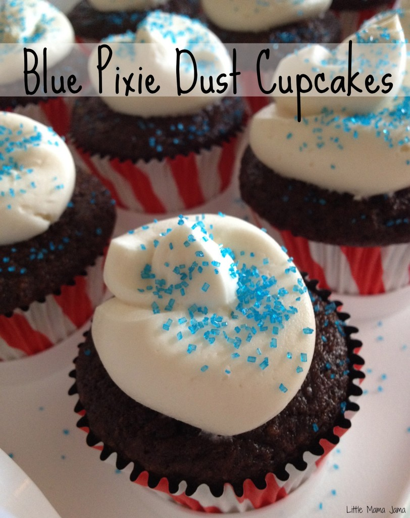 Blue Pixie Dust Cupcakes #ProtectPixieHollow #shop