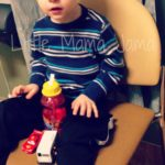 (Kinda) Wordless Wednesday: Weekend Visits to the ER