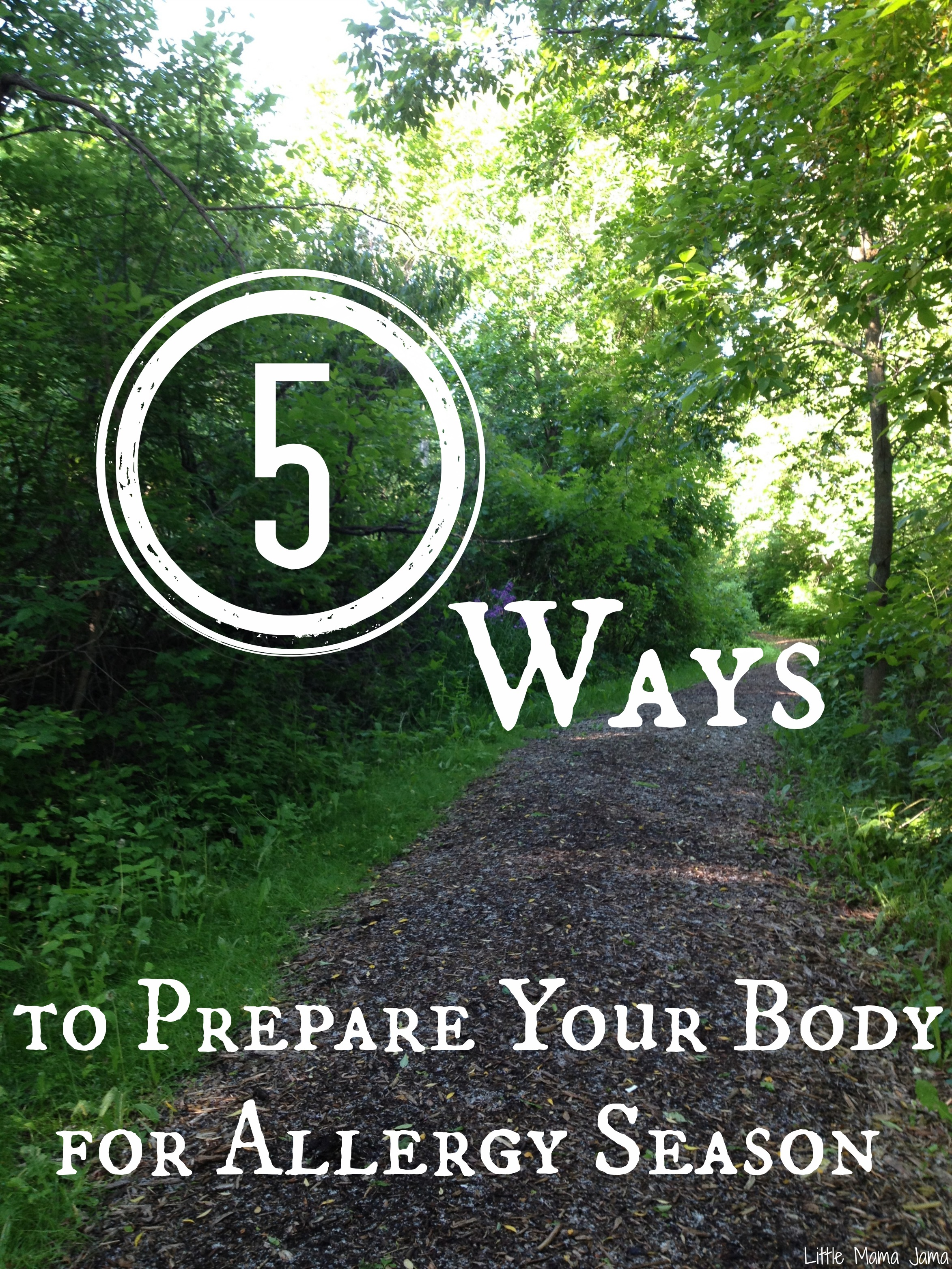 5 Ways to Prepare Your Body for Allergy Season #NaturalProbiotic #shop #cbias