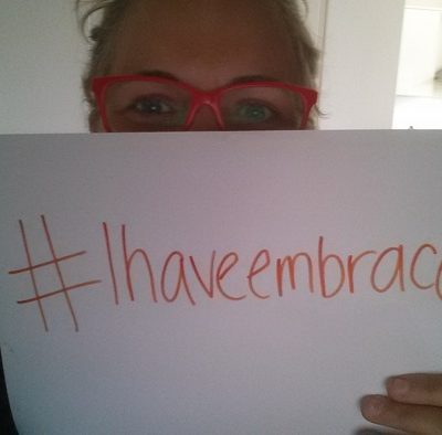 "Let's support the Body Image Movement. How ""Embrace"" documentary will create global change. #IHaveEmbraced"