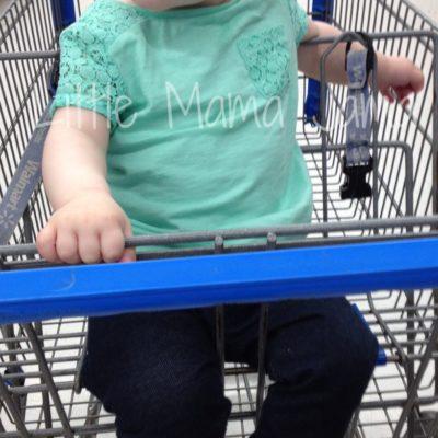 (Kinda) Wordless Wednesday: Baby Jo Goes Shopping