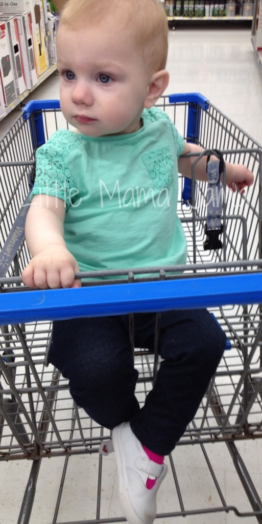 Baby Jo goes shopping