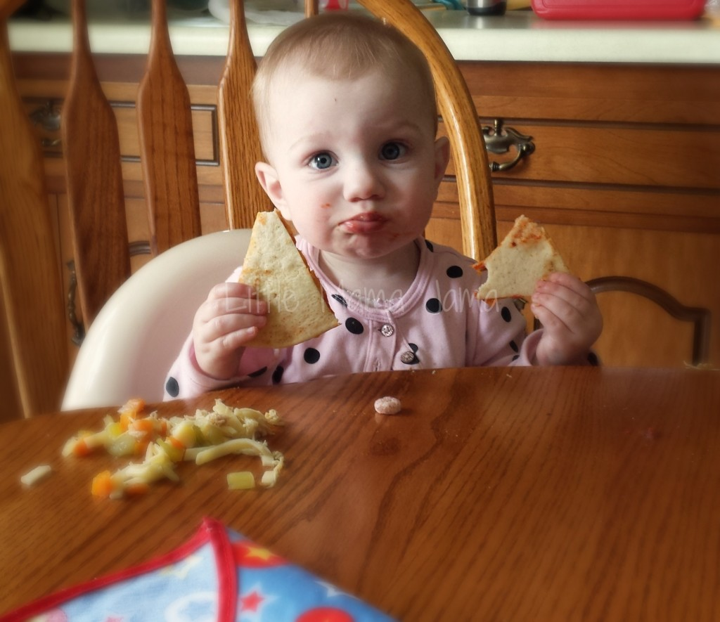 Baby Jo likes to eat! #LittleMamaJama