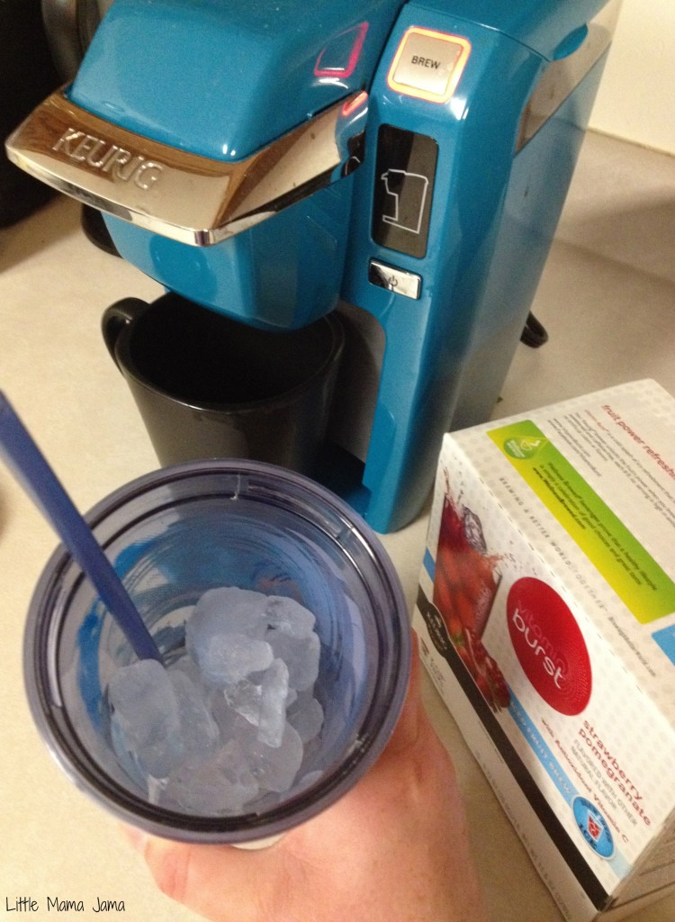 Brewing Iced Coffee with Keurig Mini #BrewItUp #BrewOverIce #shop