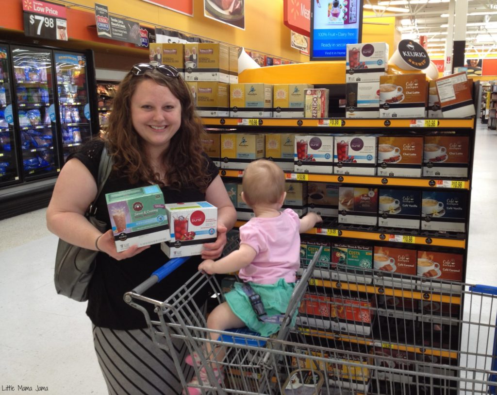Buying Vitamin Burst K-Cups at Walmart #BrewItUp #BrewOverIce #shop