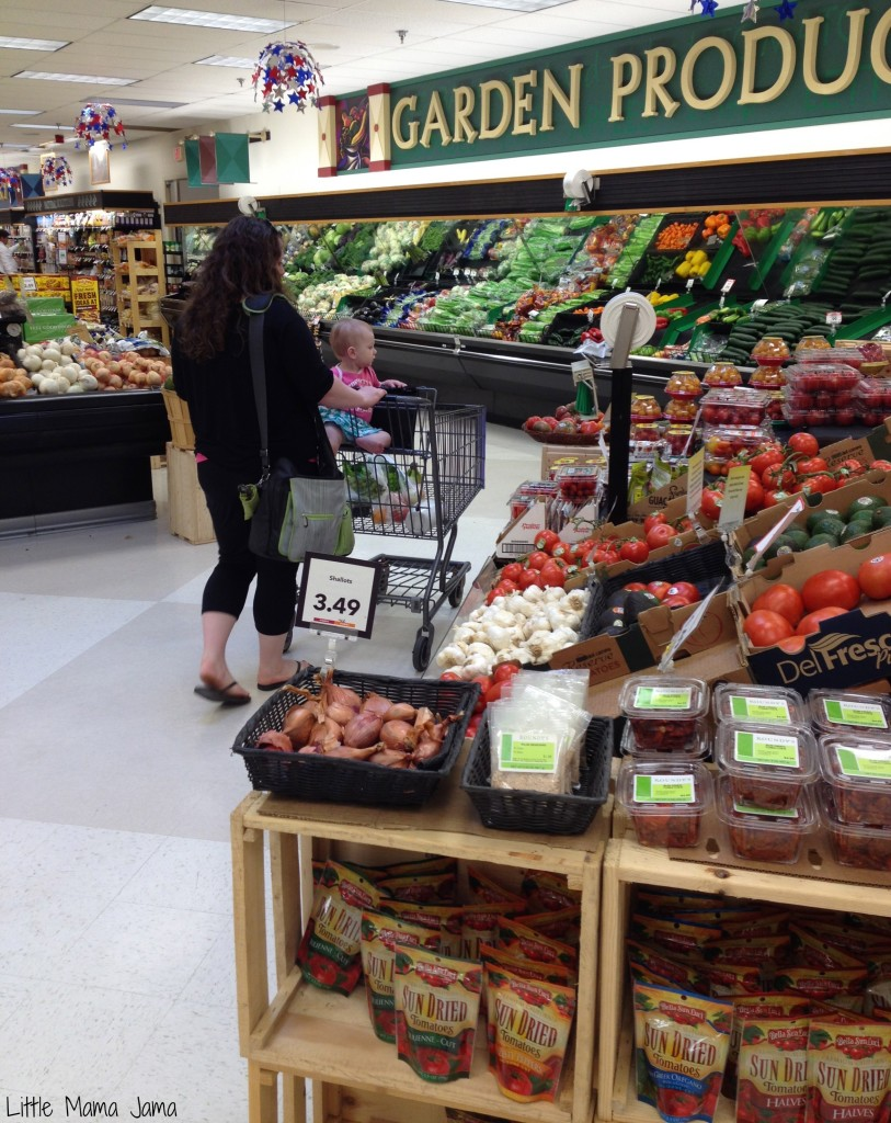 Checking out the produce at #MyPicknSave #shop