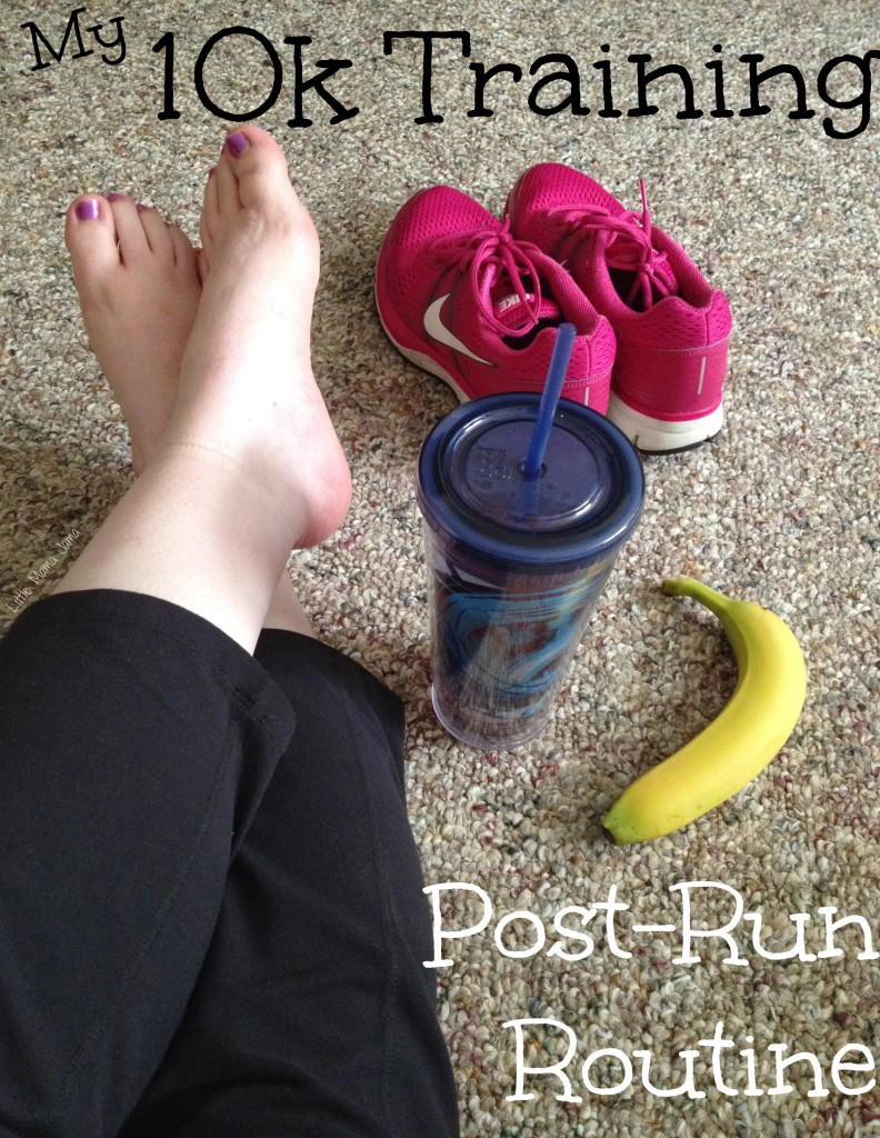 My 10k Training Post-Run Routine #BrewItUp #BrewOverIce #shop