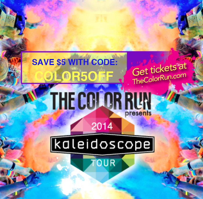 $5 off code The Color Run