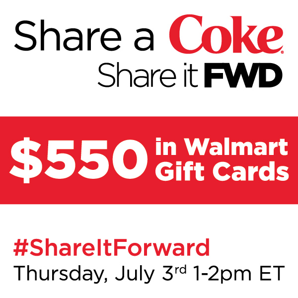#ShareItForward Twitter Party