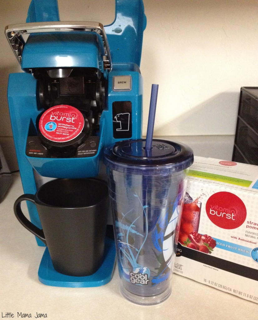 Vitamin Burst K-cups with my Keurig Mini #BrewOverIce #BrewItUp #shop