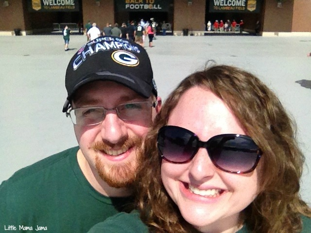 At the Packers Shareholder Meeting