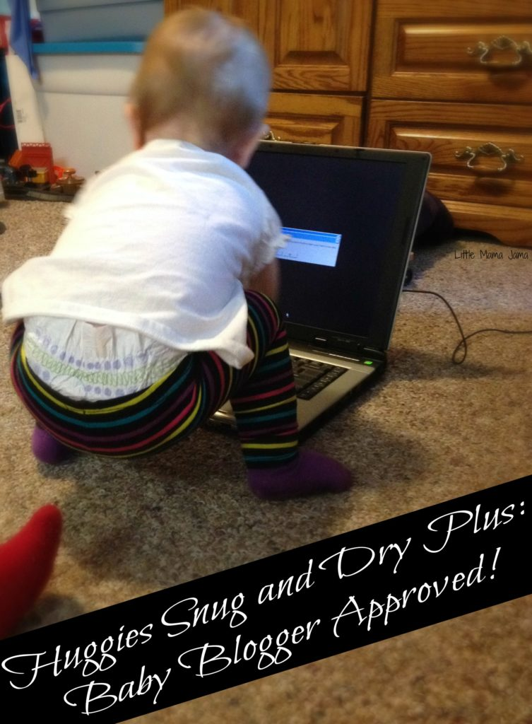 Baby Blogger Approved! #SnugandDryPlus #MC #sponsored