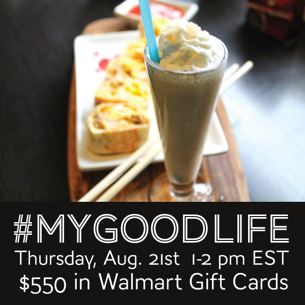 #MyGoodLife Twitter Party 8/21 #shop