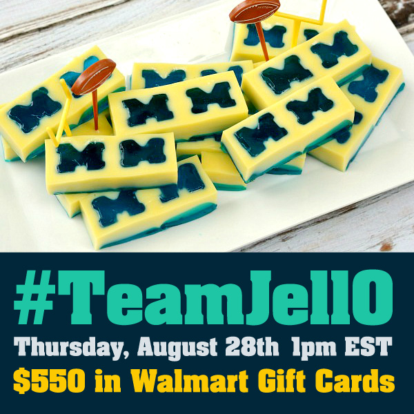 #TeamJellO Twitter Party 8-28