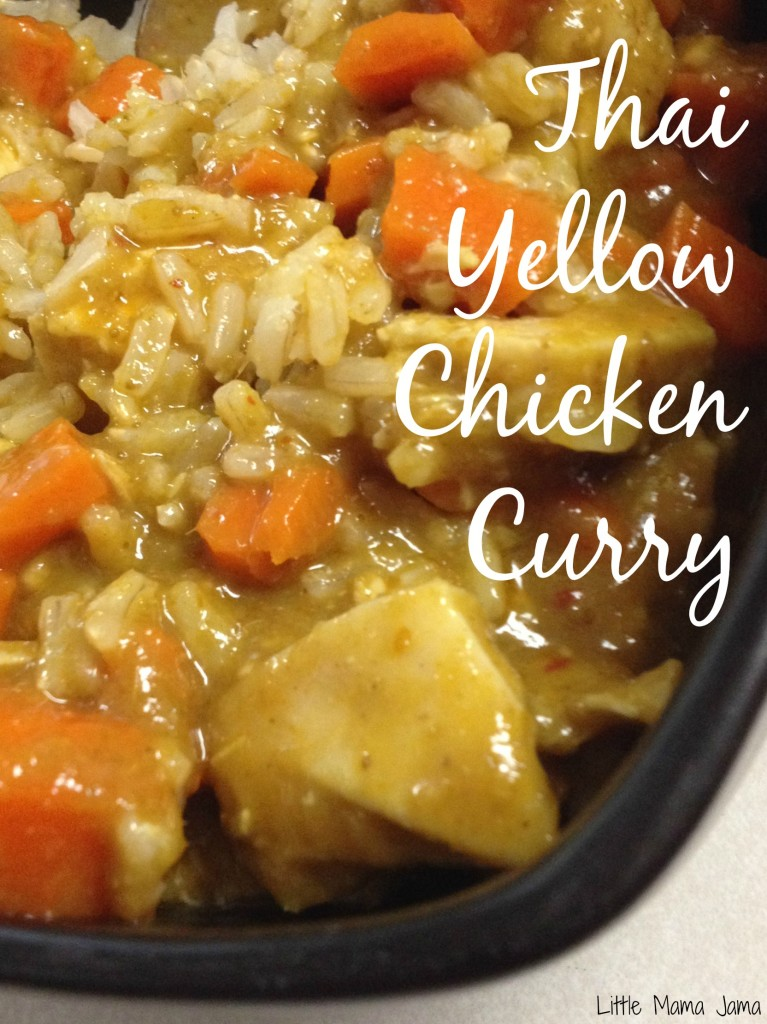 Thai Yellow Chicken Curry #momsmeet #worldfoods