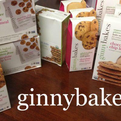 Gluten-free, organic, non-GMO treats: Ginnybakes! #momsmeet