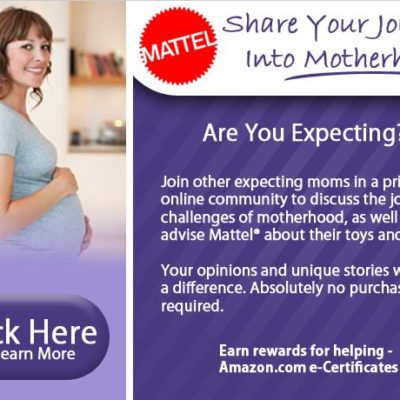 Share your journey to motherhood with Mattel and earn rewards! #ad
