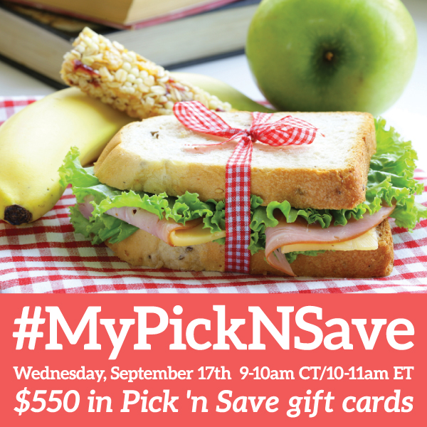 #MyPicknSave-Twitter-Party-9-17-10amEST