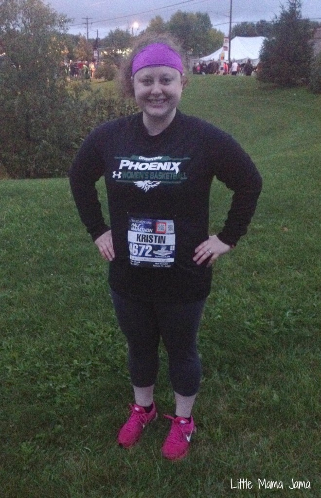 Ready for the half marathon
