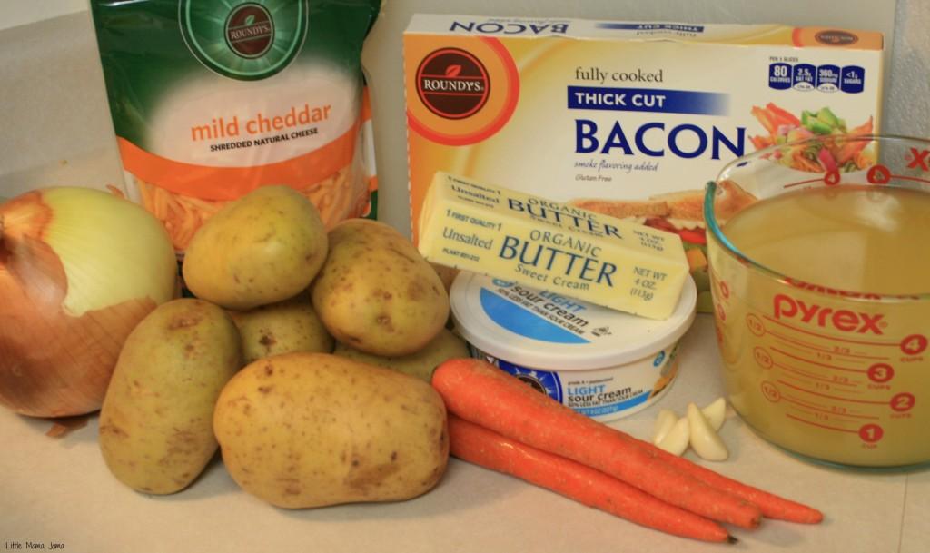 Ingredients for Loaded Baked Potato Soup #MyPicknSave #shop