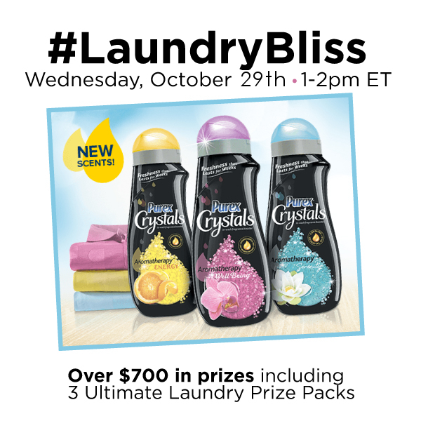 #LaundryBliss-Twitter-Party-10-29