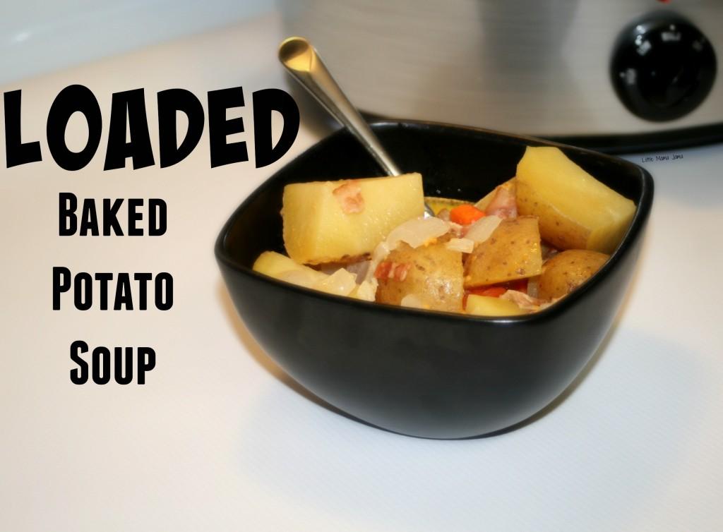 Loaded Baked Potato Soup #MyPicknSave #shop