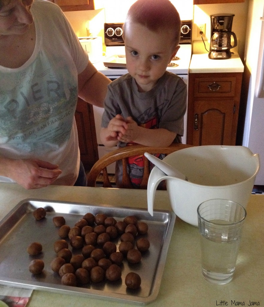 Sensory Activity: Baking Cookies