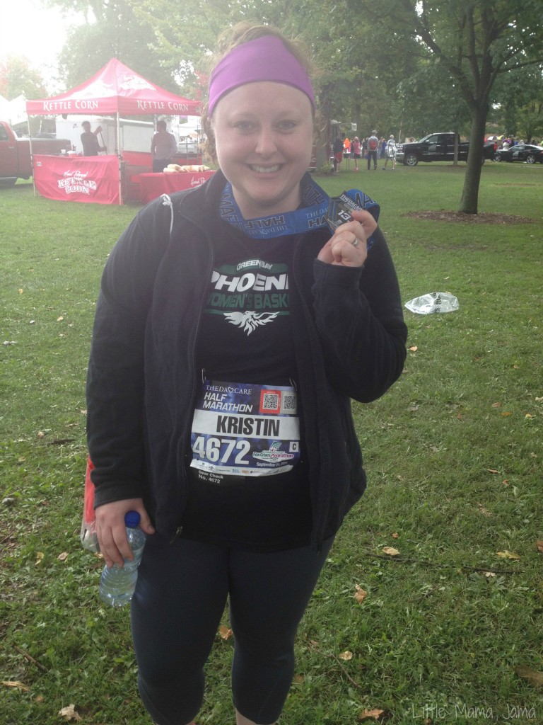 Finished my first half marathon in 2014