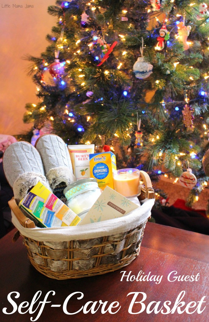 Holiday Guest Self-Care Basket with Immune Support #24HourEsterC #Ad