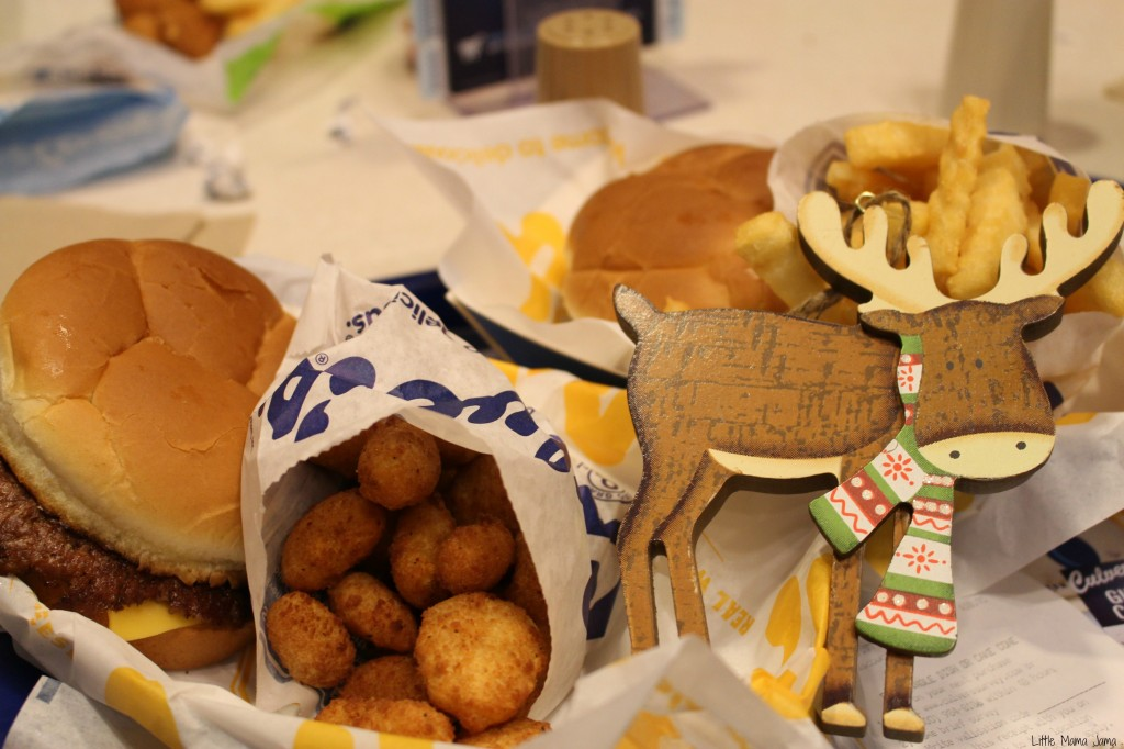 I'm so hungry I could eat a reindeer! #YoursandMine #ad
