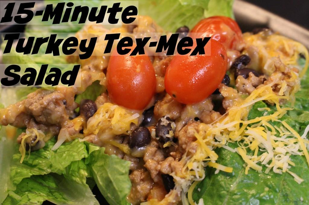 15-Minute Turkey Tex-Mex Salad