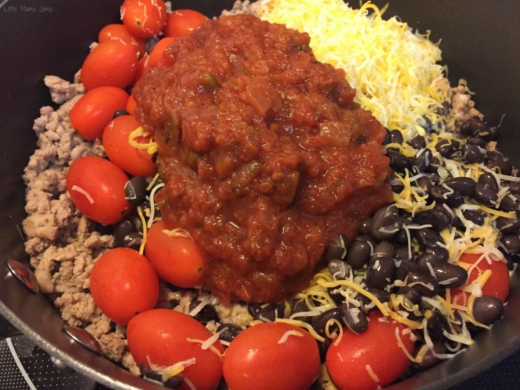 15 minute Turkey Tex Mex Salad