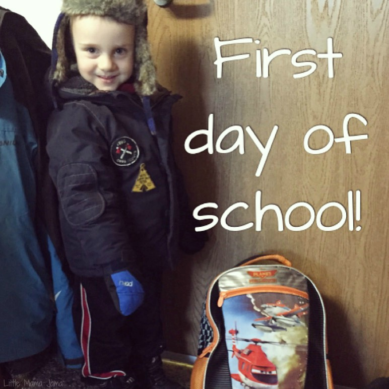 C's First Day of School