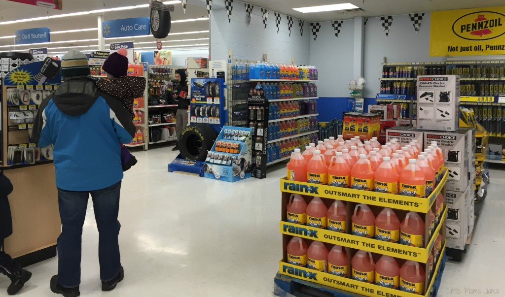 Inside Automotive Care Center at Walmart #DropShopAndOil #ad