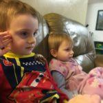 (Kinda) Wordless Wednesday: Quiet Sibling Moments